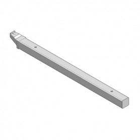 SUPPQUADRO-20 X LEGNO MM310 INOX SATIN