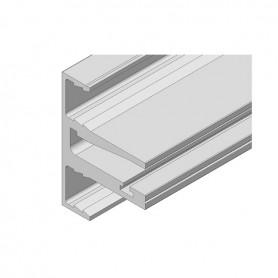 PROFILO ORIZZCLIP X VETRO DA 8 MM ALLANOD ARG (IN BARRA DA 6100mm)