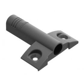 Piastra a supporto grigia interasse 32 mm. distanza attacco 9,5 mm.