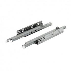 550H6000B - Guida TANDEM 600 mm 30 Kg parziale estrazione con Blumotion integrato