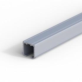 Binario superiore alluminio anodizzato 3 mt. per scorrevoli portata 30 Kg.