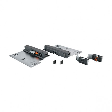 T55.1150 - Set Tip-on TANDEM 30 Kg. 550 mm. grigio arancione