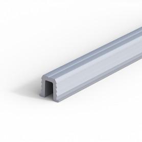 Binario inferiore alluminio anodizzato 3000 mm. per ante scorrevoli portata 15 Kg.