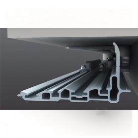 Kit binario inferiore In alluminio anodizzato