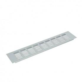 Griglia di aerazione in alluminio 100x480 argento