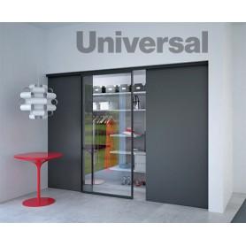 Kit Binario Universal - nichel spazzolato