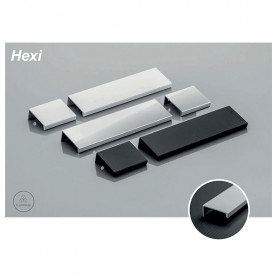 Profilo Maniglia HEXI 3500 mm. in argento