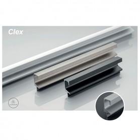 Profilo Maniglia CLEX 3500 mm. nichel satinato