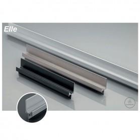 Profilo Maniglia ELLE 3500 mm. argento
