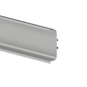 Profilo GOLA centrale orizzontale argento 4000 mm.