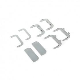 Set accessori profilo GOLA centrale antracite