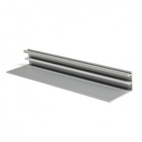 Profilo maniglia FREE FACE argento 3000 mm. verticale