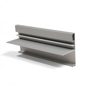 Profilo maniglia/spalla FREE FACE argento 3000 mm.