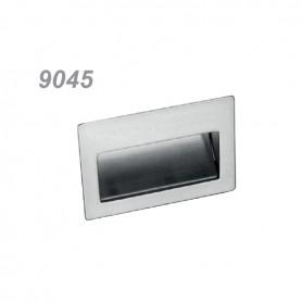 Maniglia incasso 9045 110 mm. argento