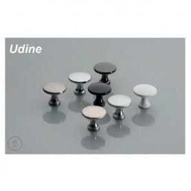Pomolo UDINE 25x29 mm bianco opaco