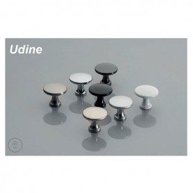Pomolo UDINE 25x29 mm nero opaco