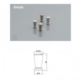 Pomolo IMOLA diametro 10,5 mm nichel satinato
