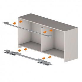 Kit profili + accessori Madia S10 lunghezza int. mobile 1628-2400 mm