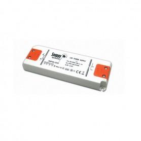 Alimentatore LED 230V 30W 12VDC+A2mt spina EU + Distribuzione 6 vie MPK