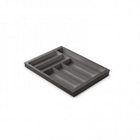 611154000BL2 - Portaposate Première per mobile base mm 450, Misure 368x472x45. Grigio orione