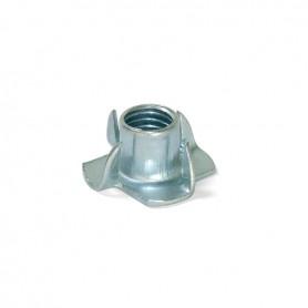 Fondello Ragno in acciaio zincato M6 d.8