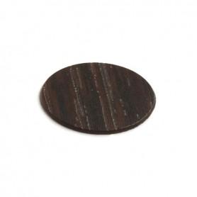 Copriforo adesivo diametro 20 mm. WENGE 994 PLR2