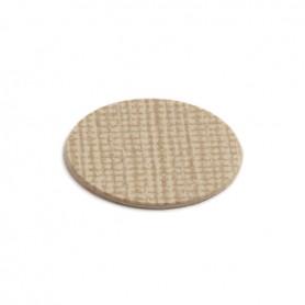 Copriforo adesivo diametro 20 mm. Trama 51117