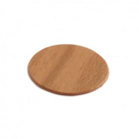 Coprivite adesivo diametro 13 mm. ciliegio chiaro 9030