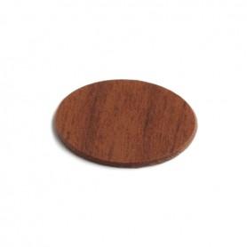 Coprivite adesivo diametro 13 mm. ciliegio scuro 9118