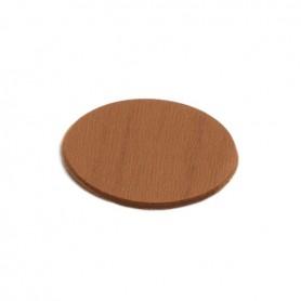 Coprivite adesivo diametro 13 mm. nocciola 5483