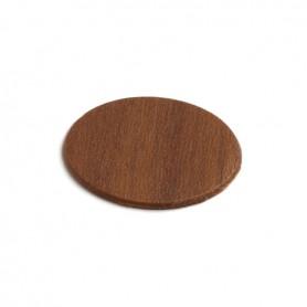 Coprivite adesivo diametro 13 mm. marrone/noce 6045