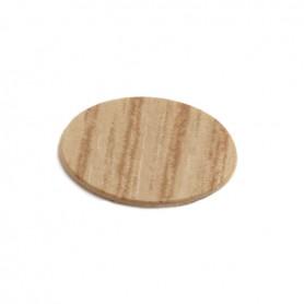 Coprivite adesivo diametro 13 mm. rovere chiaro venato 4557