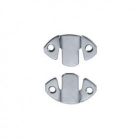 Attaccaglia a baionetta acciaio/zinco 5506