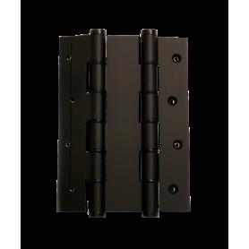 Cerniere doppia azione alluminio per porte a vento spessore 40 mm. apertura 180° anodizzate nero