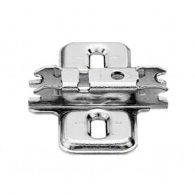Base clip aggancio rapido acciaio forma a croce