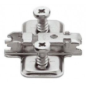 173L8300 - Base clip aggancio rapido acciaio forma a croce
