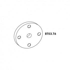 Placca d 60 sp 4 FIL. 16X1,5 FE/ZIN