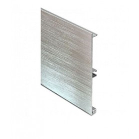 Zoccolo in alluminio estruso H mm. 100
