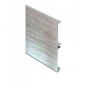Zoccolo in alluminio estruso H mm. 120
