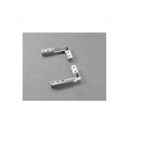 DEL6BSFV02 - Kit 4 PZ. squadrette di fissaggio per profilo AIR