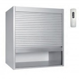 KIT SERRANDA BOX MILANO2125  MM772x600x18 ALLA2 INOX SPAZZ