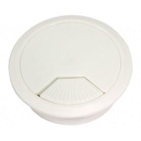 Bocchetta passacavo diametro 60 mm. bianco