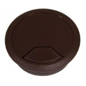 Bocchetta passacavo diametro 60 mm. marrone