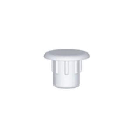 Copriforo nylon diametro 5 mm. marrone chiaro