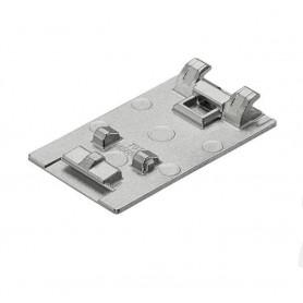 70T4568C - Piastrina portafondello cristallo/specchio