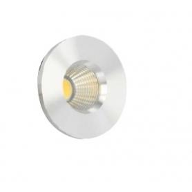 SPOT LED 220Vdc 3W 38° 3000K con alimentatore incluso