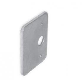 Ferma antina in acciaio zincato