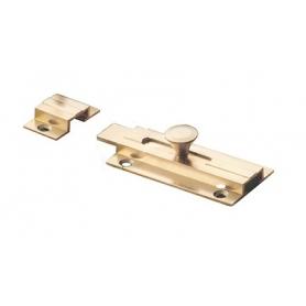 Catenacciolo sagomato 60x31 mm ottone bronzato