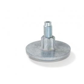 Piedino regolabile in zama diametro 50 mm 38XM10 mm