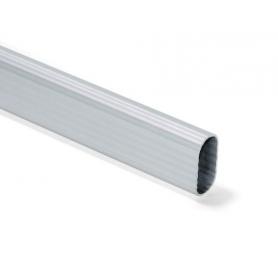 Tubo alluminio 15X30 mm millerighe al mt - 4000 mm